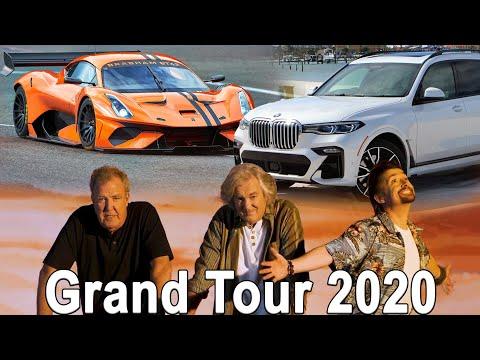 Grand Tour 2020, Porsche с разгоном 1,8 секунды, Toyota Supra 2400л.с, 2000+км на одном заряде!