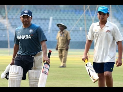 Arjun Is Passionate About Cricket Says Sachin Tendulkar