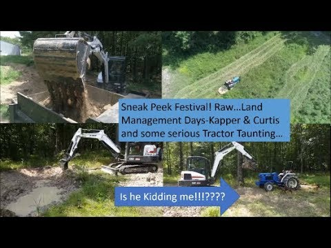 Sneak Peek (Raw) Land Management Jobs! And Tractor Taunting???