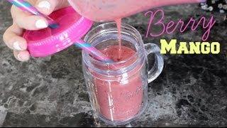 Berry Mango Smoothie | #smoothiesunday | Britany's Beauty