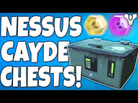 Destiny 2 - All Cayde-6 Nessus Treasure Chest Locations - Week 5