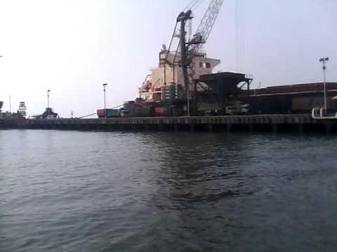 Port cigading