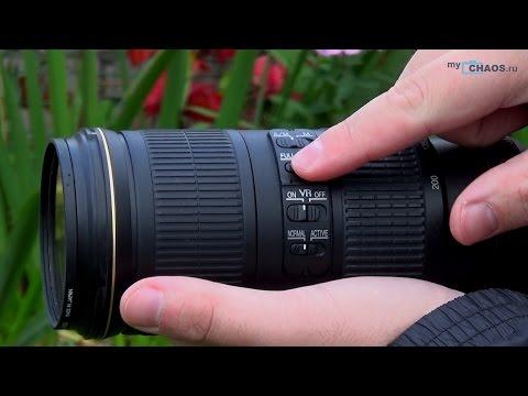 Обзор объектива Nikon 70-200mm f/4G AF-S