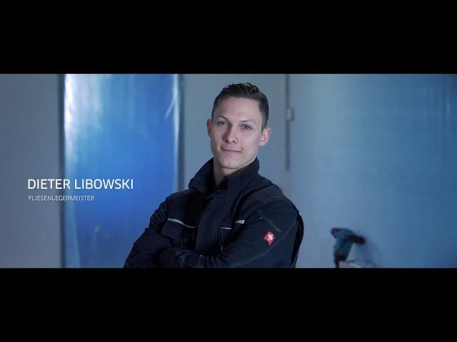 Fliesenleger mit Herz und Seele - Dieter Libowski
