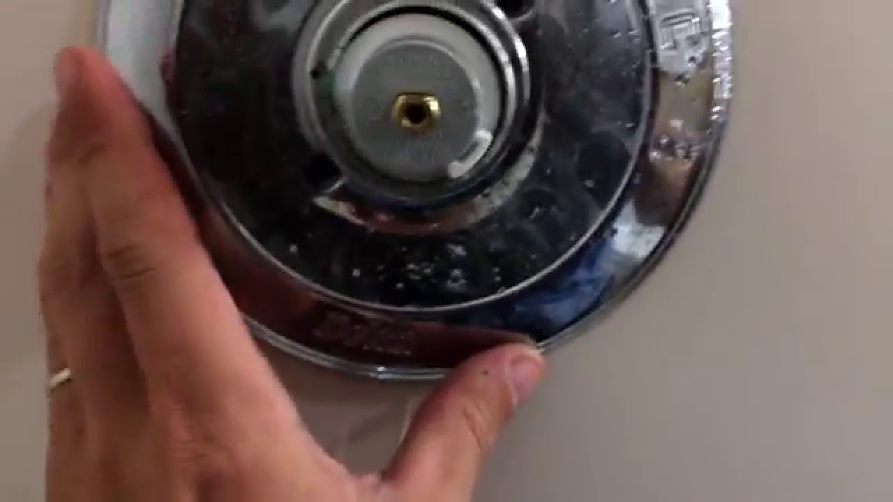 HOW TO remove stuck on shower handle & shower cartridge removal ...