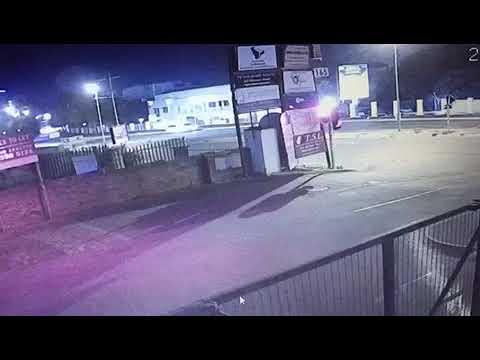 Audi TT S Crashes on Rivonia Road, Sandton
