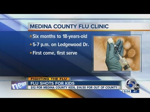 Medina Co. child flu clinic