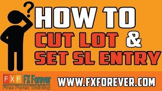 How to Close Half Lot | How to set SL at Entry Level