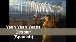 Despair - Yeah Yeah Yeahs (Español - Spanish Subtitulos)