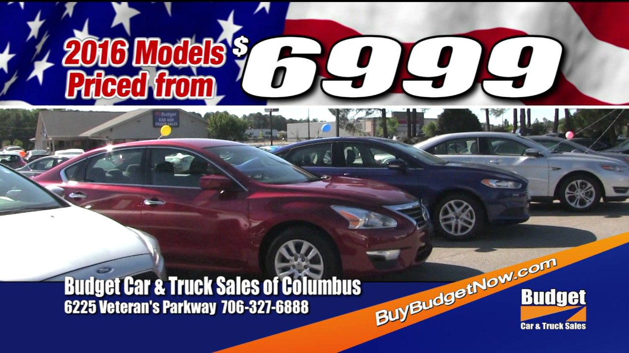 BUDGET CAR AND TRUCK SALES PRATTVILLE MEMORIAL DAY 2017 TV30HD ...