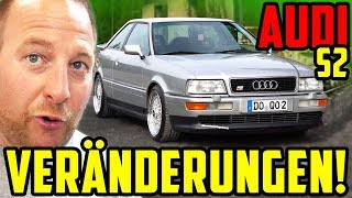 UPGRADE für Marcos Baby! - Audi S2 Coupé - Dachhimmel & Felgen!
