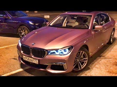 Розовая BMW 7 забрал MASERATI за 7 млн Levante S. Quattroporte. Ghibli. Markovsky. Тест обзор.