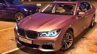 Розовая BMW 7 + забрал MASERATI за 7 млн!) Levante S. Quattroporte. Ghibli. Markovsky. Тест-обзор.