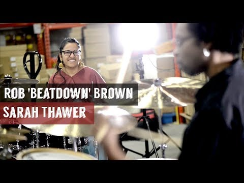 ROB BROWN & SARAH THAWER  SOLO AT THE WAREHOUSE