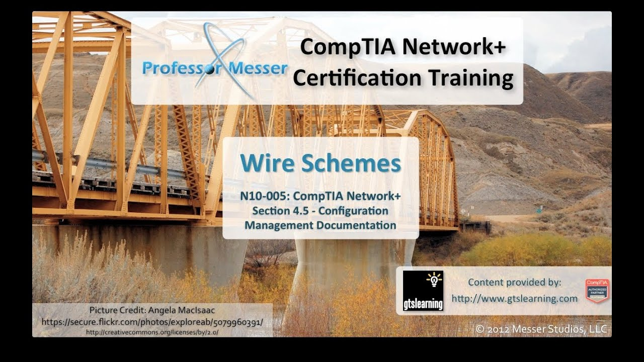 Wire Schemes CompTIA Network N10005 45 YouTube