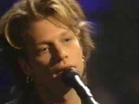 BON JOVI - WITH A LITTLE HELP FROM MY FRIENDS