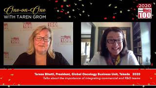Teresa Bitetti, Takeda – 2020 PharmaVOICE 100 Celebration