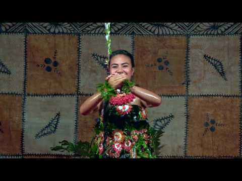 Winner of Teen Tau'olunga - Michelle Holameitonga | Beautiful Tonga - Heilala Festival