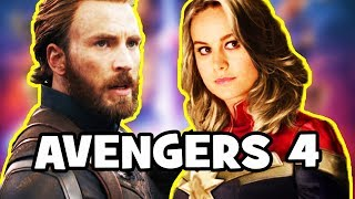 Avengers Infinity War POST-CREDITS SCENE - Captain Marvel + AVENGERS 4 Theory