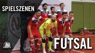 SV Werder Bremen - Hamburg Panthers (Finale, NFV Futsal-Pokal 2016) - Spielszenen | ELBKICK.TV