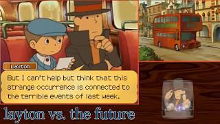 Professor Layton Vs. The Future // 1