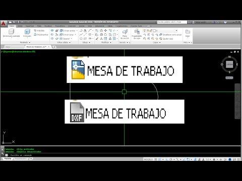 Convertir DWG A DXF Viceversa AutoCAD