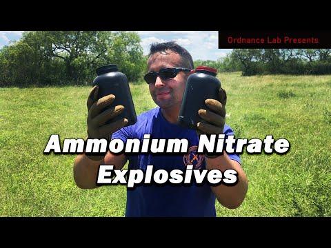 Testing Ammonium Nitrate Based Explosives
