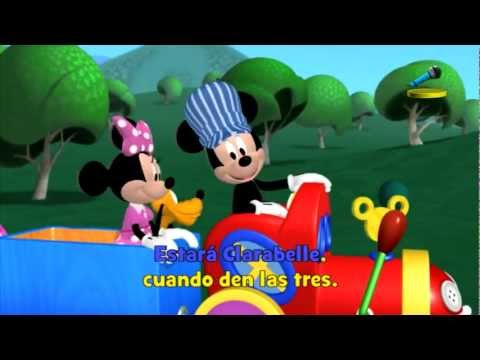 Disney Junior España | Canta con DJ: Choo Choo Boogie - YouTube