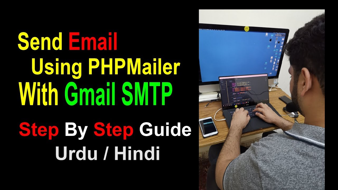 How to Send Email Using Gmail SMTP Through PHPMailer