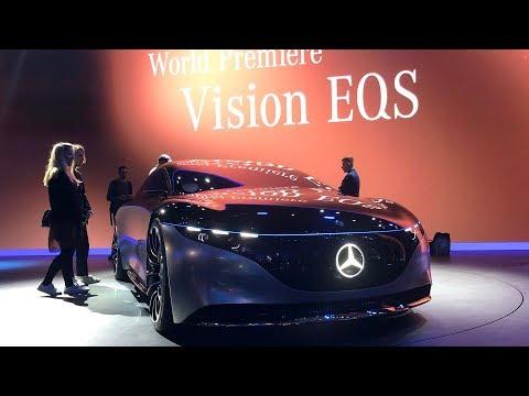 Mercedes-Benz Vision EQS world debut at the 2019 Frankfurt Motor  Show