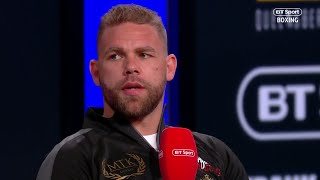He's back! Billy Joe Saunders world title fight announced for April 13th