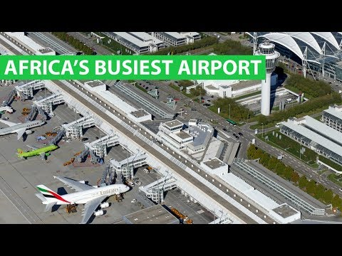 The BUSIEST Airports in Africa receiving millions of passengers 2019