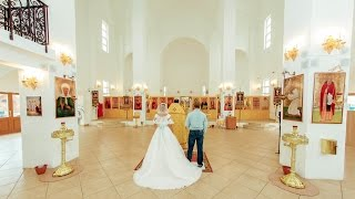 Видеосъемка венчания в церкви в качестве 4к в Москве