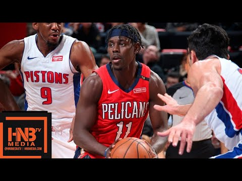 New Orleans Pelicans vs Detroit Pistons Full Game Highlights | 12.09.2018, NBA Season
