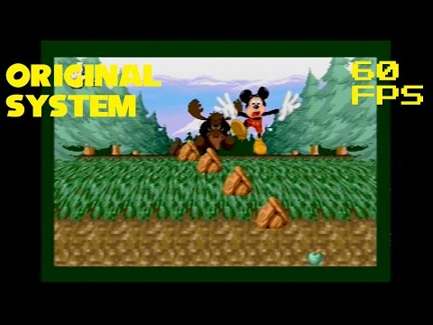 3. (60 FPS Genesis) Moose Hunters - Mickey Mania: The Timeless Adventures of Mickey Mouse