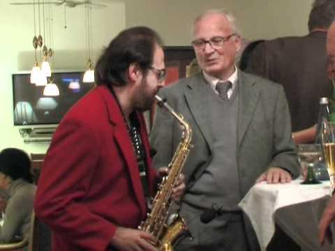 Mike Nitu -  Live Saxophon im Central Hotel, Freiburg i. Breisgau