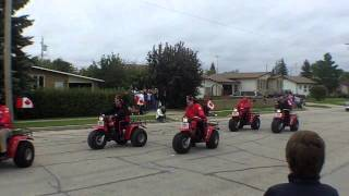 double b rodeo parade 2010
