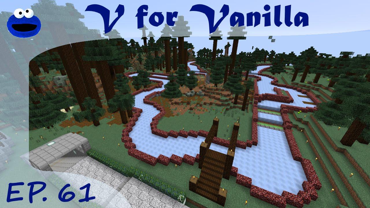 Ice Boat Race Track Ep 61 Minecraft V For Vanilla Season 3 YouTube