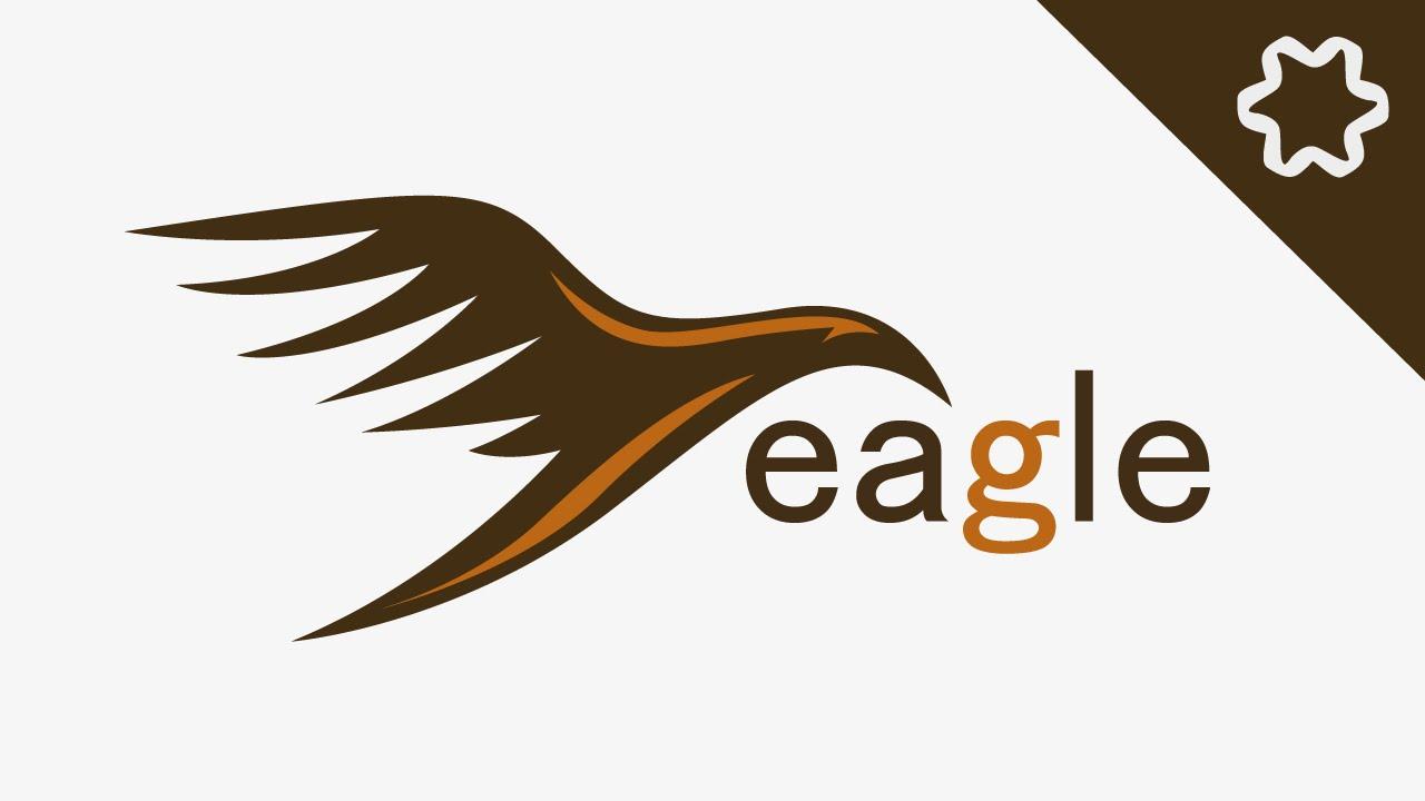 Custom Fly Bird Logo Design in Adobe illustrator CC / Animal Logo ...
