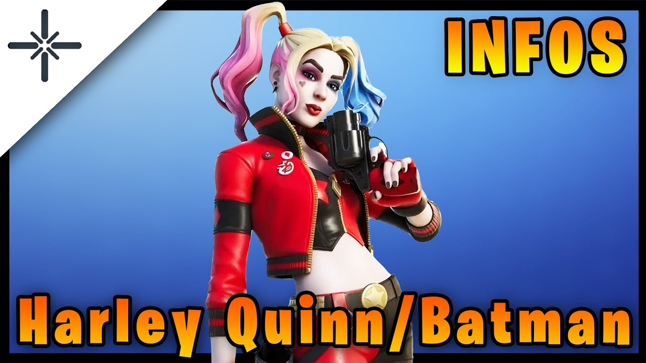 New Batman and Harley Quinn Skins Coming to Fortnite! All Infos! #shorts