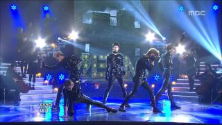 MBLAQ - This is War, 엠블랙 - 전쟁이야, Music Core 20120121