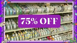 💜 75% OFF - ROUND 4 CLEARANCE - NEW AT HOBBY LOBBY 💜