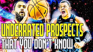 UNDERRATED 2020 NBA DRAFT PROSPECTS THAT YOU DON'T KNOW?!?!