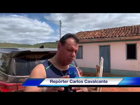 Visita em Presidente Jânio Quadros - BA com o repórter Carlos Cavalcante
