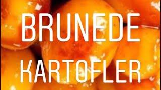 Brunede kartofler trin for trin