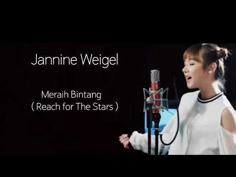 Lyrics Meraih Bintang (Reach For The Strars)  Official 18th Asian Games Them Song By Jannine Weigel
