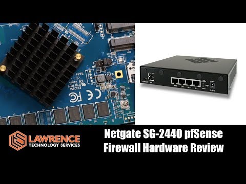 Netgate SG-2440 pfSense Firewall Hardware Review
