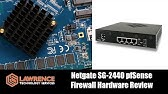 Accessing the PFSense SG2440 Firewall from the Console Port