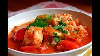 Кулинария-Овощное рагу с курицей.
