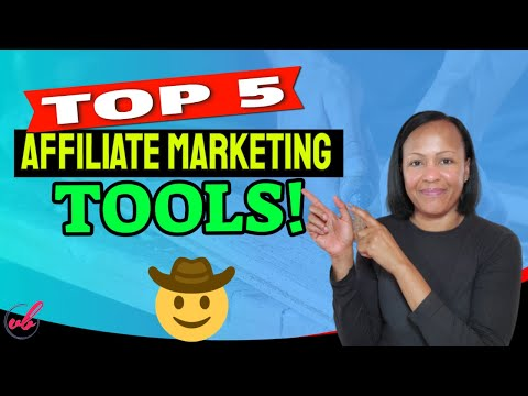 5 BEST TOOLS NEEDED FOR AFFILIATE MARKETING SUCCESS | AFFILIATE MARKETING thumbnail